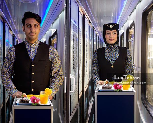 قطارهای لوکس ایران