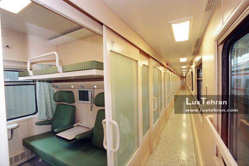 بلیط قطار غزال بنیاد