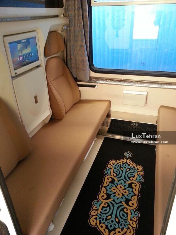 ارائه سرویس خواب در قطارهای لوکس