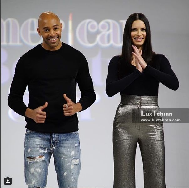 آدریانا لیما در مسابقه AMERICAN BEAUTY STAR