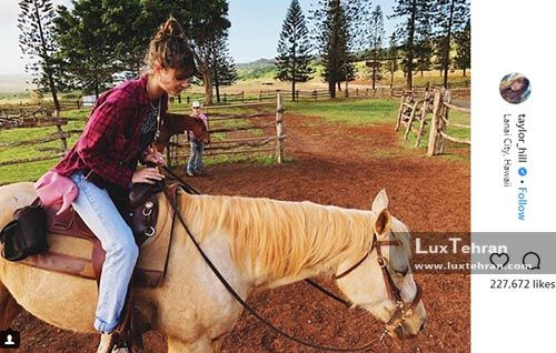 اسب سواری های ۳۰۰ هزار لایکی