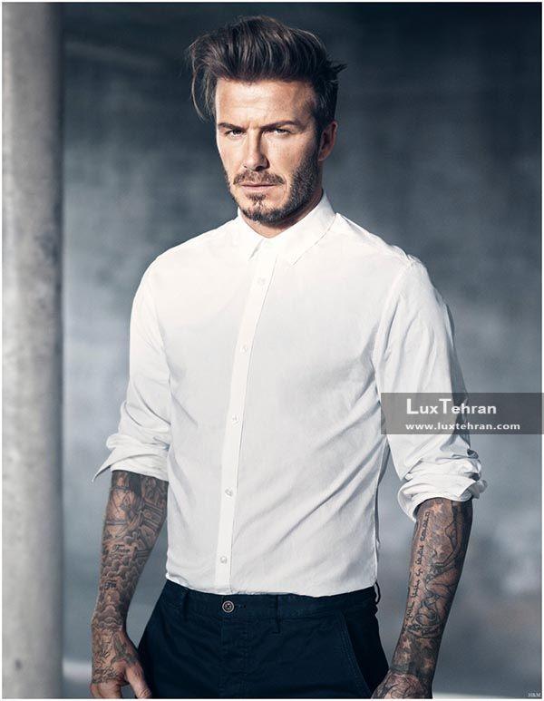پیراهن مردانه سفید از برند اچ اند ام