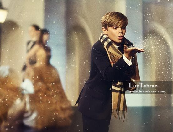فیلم تبلیغاتی رومئو بکام برای برند بربری