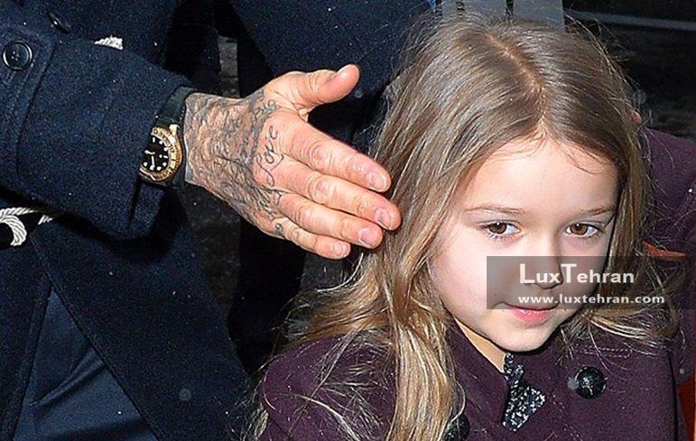 هارپر چهار ساله تیتر رسانهها دختر دیوید بکهام