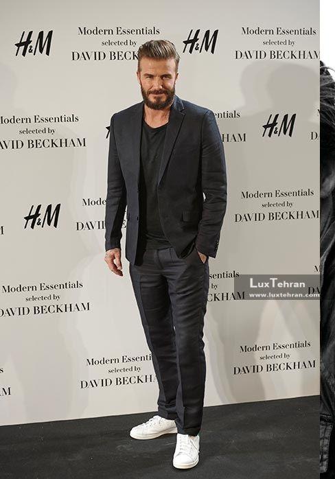 دیوید بکام هم در فوتوشوتی برای برند H&M سوئد