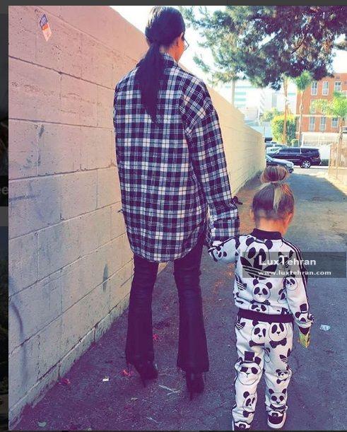 استایل خیابان گردی های کورتنی و پسرش