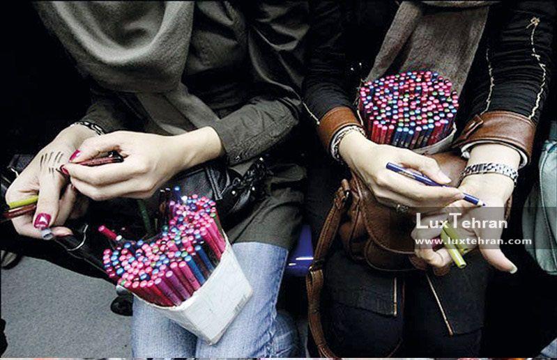 خرید و تست محصولات آرایشی و بهداشتی از دست فروشان خیابان و مترو