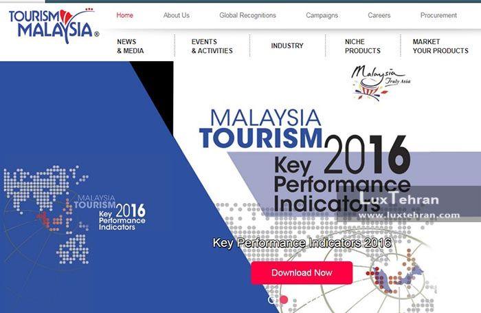 سایت رسمی اداره گردشگری مالزی