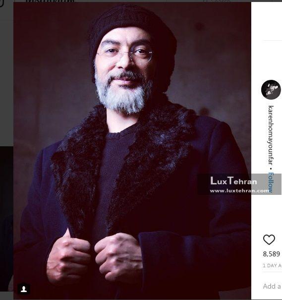 استاد کارن همایون فر از پیشکسوت های سینمای ایران