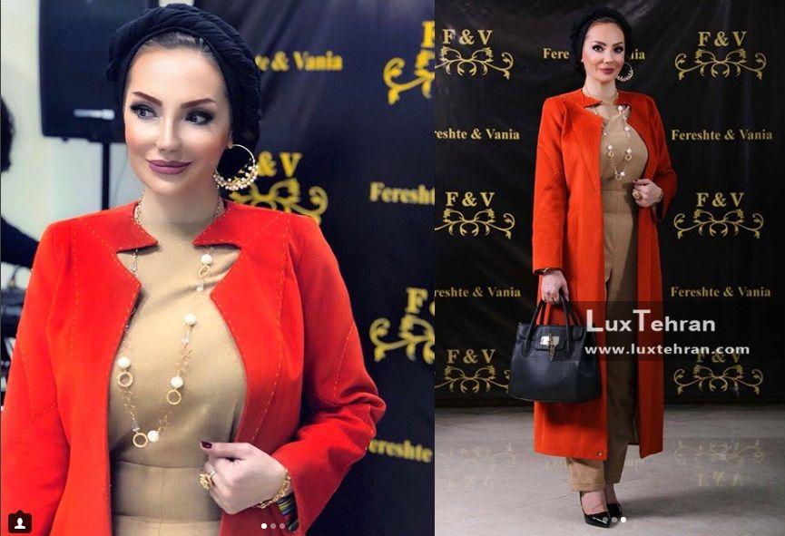 از کلکسیون های جذاب مد و لباس خانم خورشید سعیدی