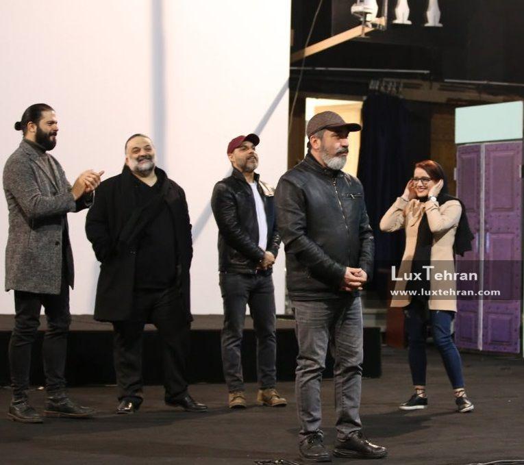 تیپ سیامک انصاری، کاندیدای سیمرغ بلورین سی و ششمین جشنواره فیلم فجر