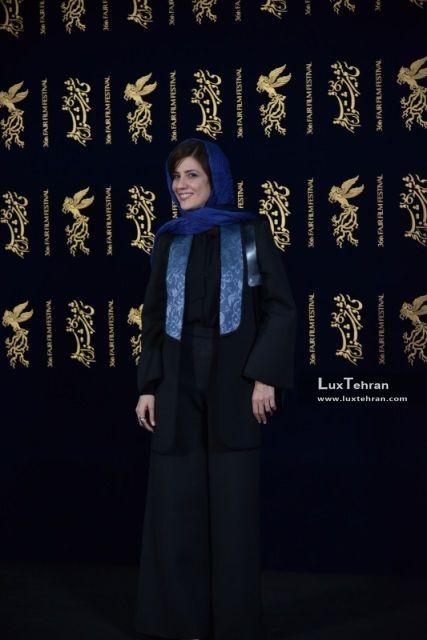 تیپ سارا بهرامی برنده سیمرغ بلورین بهترین بازیگر نقش اول زن