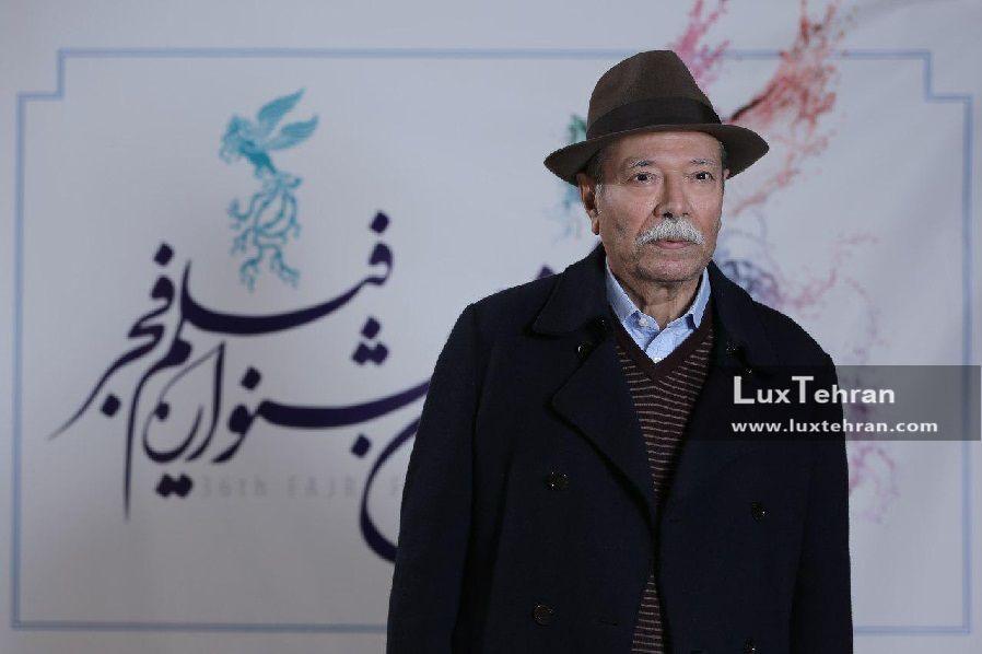 تیپ متفاوت استاد علی نصیریان پیشکسوت سینما و تئاتر ایران