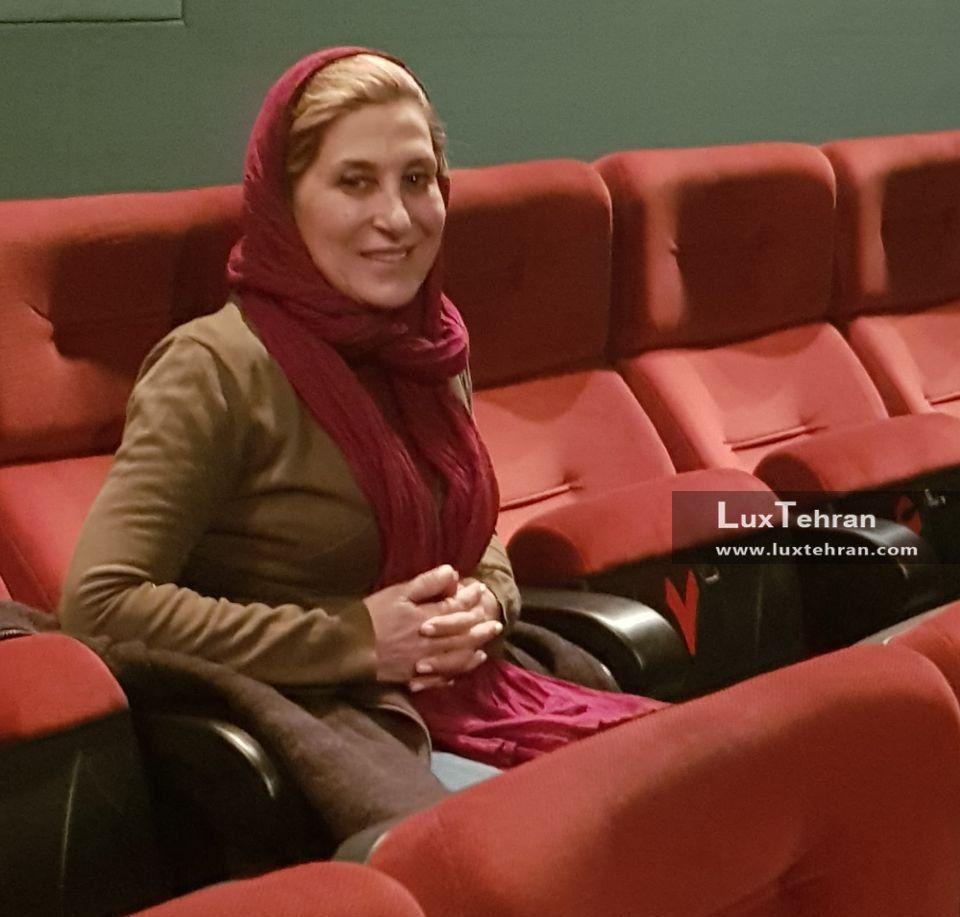 تیپ ساده فاطمه معتمد آریا، در سی و ششمین جشنواره فیلم فجر