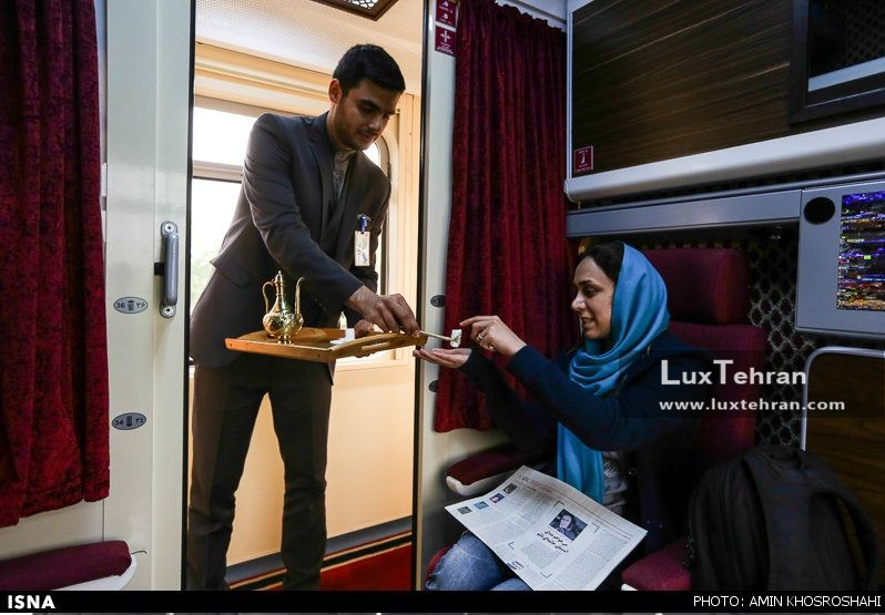 قطارهای لوکس ایران برای ایرانگردان