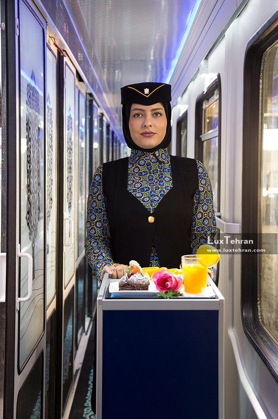 مهمانداران زن قطارهای لوکس ۵ ستاره فدک
