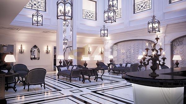 هتل های ۵ ستاره مجلل در مرکز شهر تفلیس گرجستان