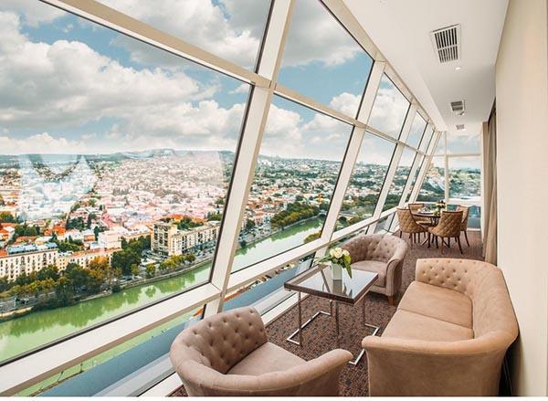 گران ترین هتل تفلیس گرجستان