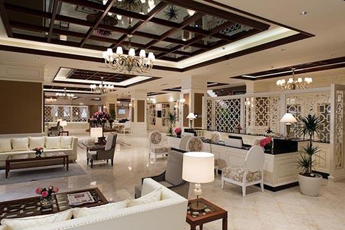 دکوراسیون هتل دیوان ۵ ستاره شهر باتومی گرجستان