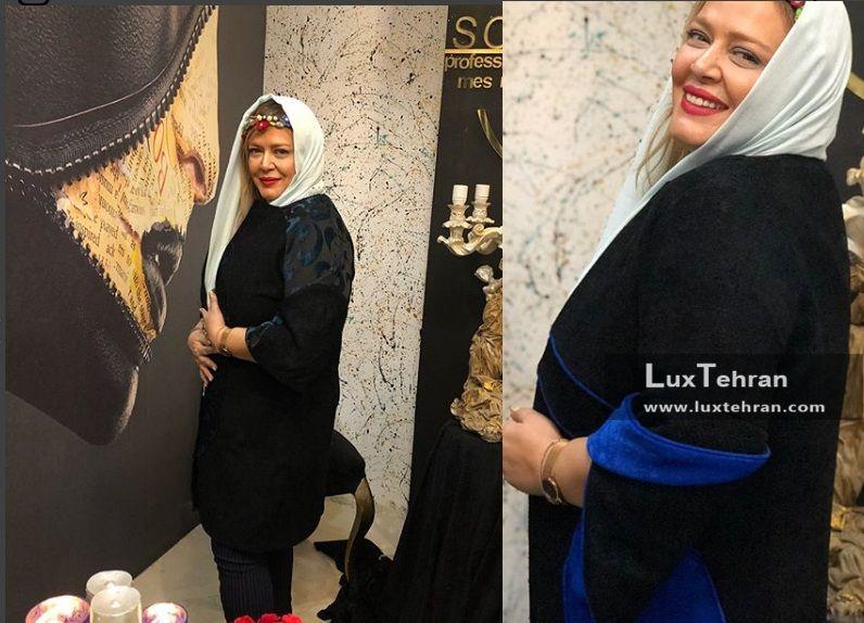 کالکشن زمستانه لباس های غزاله غفاری