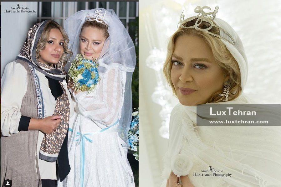 لباس عروسی بهاره رهنما