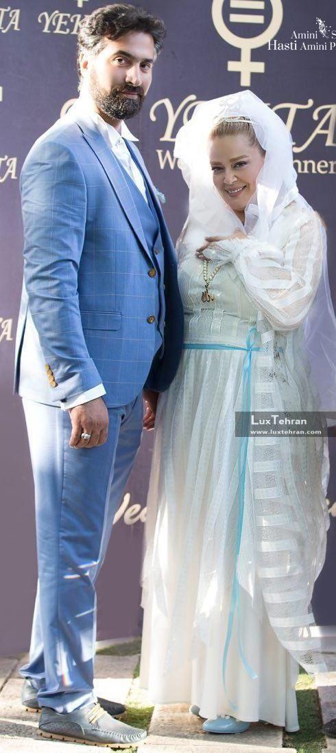 تصویر لباس عروسی بهاره رهنما