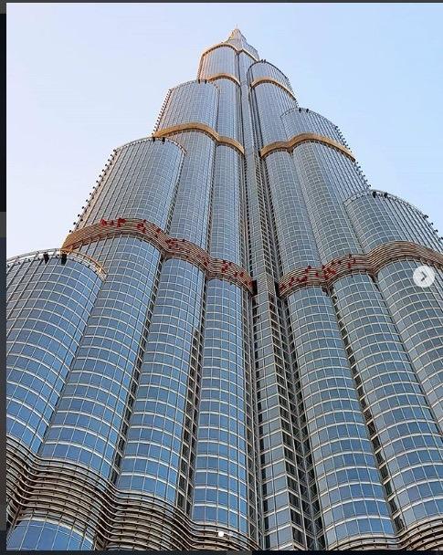بلند ترین برج جهان در شهر دبی برای دبی گردی