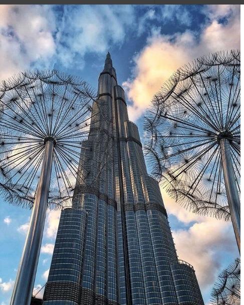برج الخلیفه دبی بلندترین برج جهان برای دبی گردی