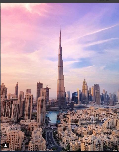 صفحه رسمی بلند ترین برج جهان برای دبی گردی