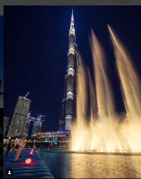 برج خلیفه برای دبی گردی