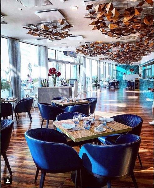 رستوران مجلل برج العرب دبی