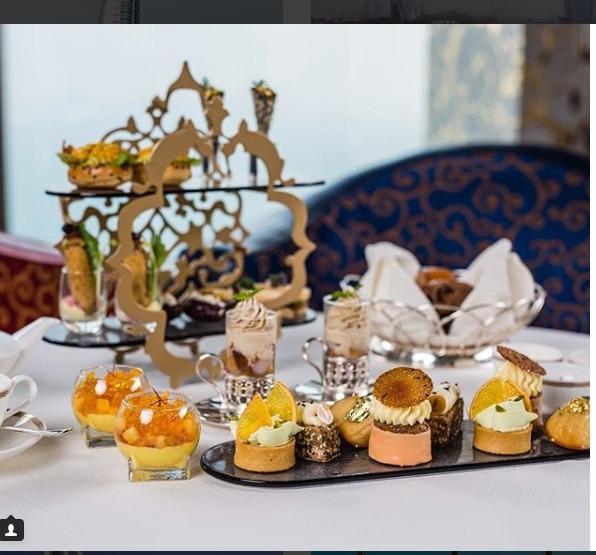 رستوران مجلل و لاکچری برج العرب دبی