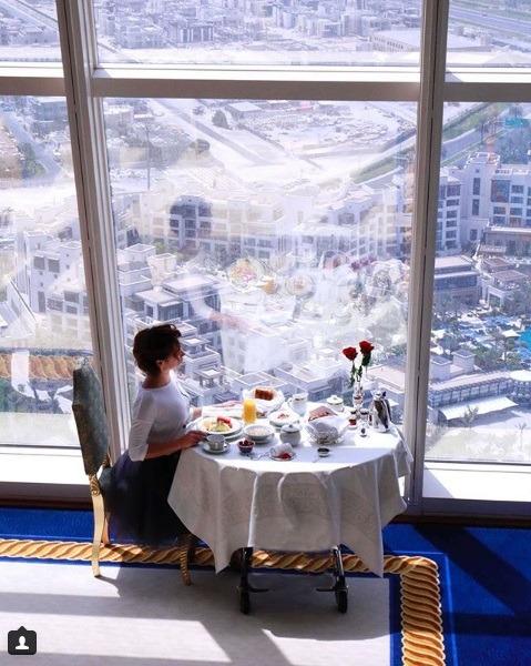 رستوران برج العرب دبی