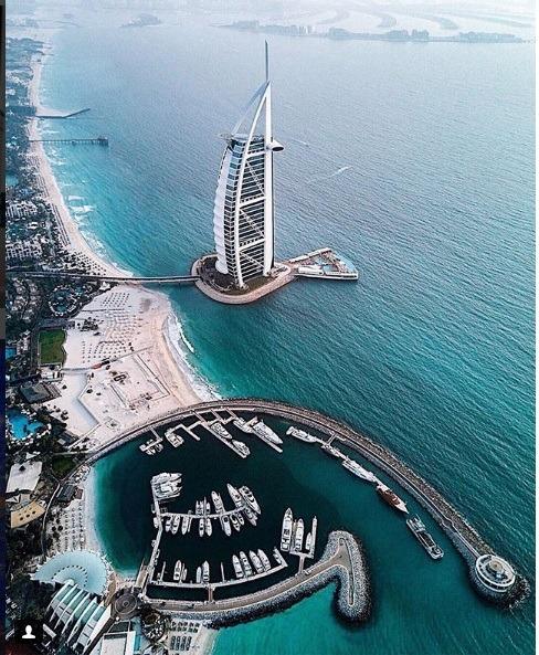برج العرب برای دبی گردی