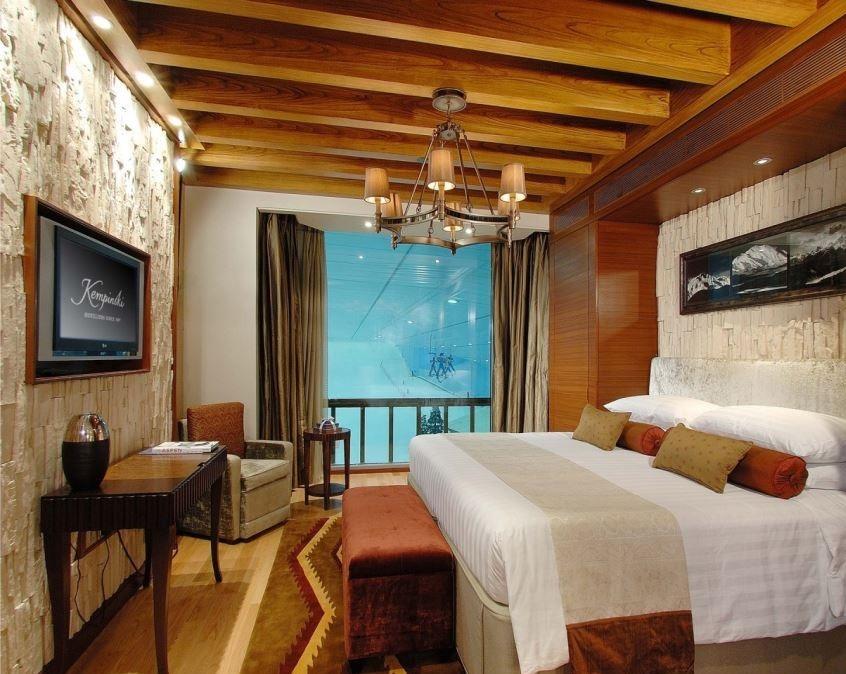اتاق های مجلل هتل کمپینسکی برای دبی گردی