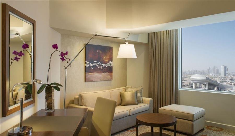 اتاق های هتل شرایتون برای دبی گردی