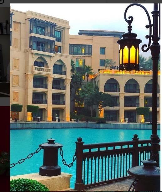 منطقه SOUK AL BAHAR برای دبی گردی