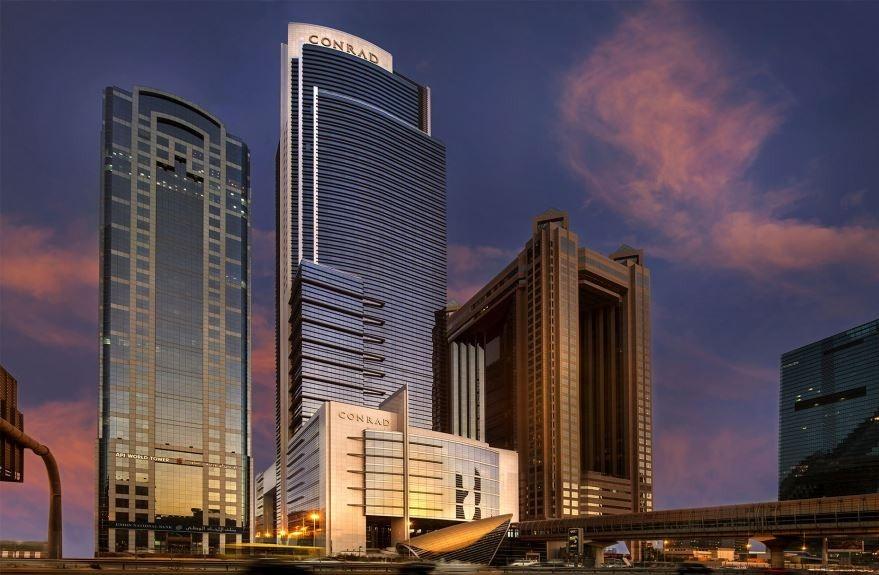 هتل کنراد برای دبی گردی