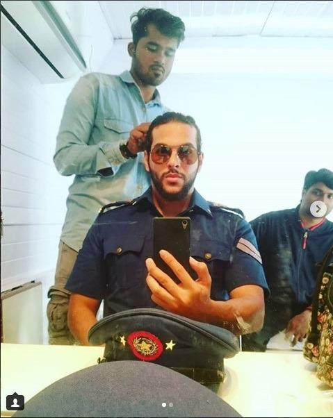 اعضای پلیس دبی