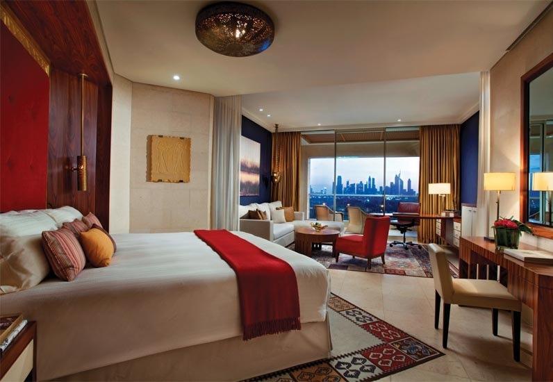 اتاق های مجلل هتل رافلز دبی برای دبی گردی