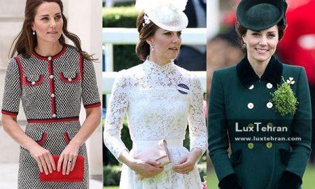 لباس مجلسی کیت میدلتون ملکه مد جهان