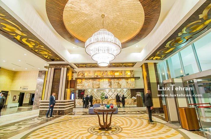 لابی مجلل هتل ددمان قونیه ترکیه