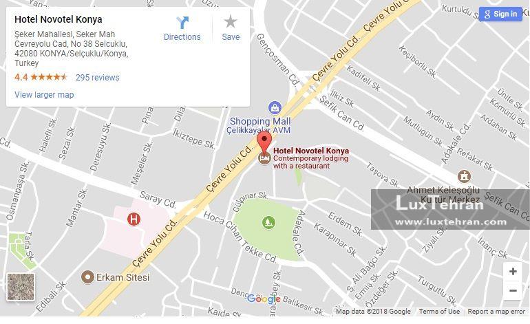 هتل در سه کیلومتری موزه مولوی