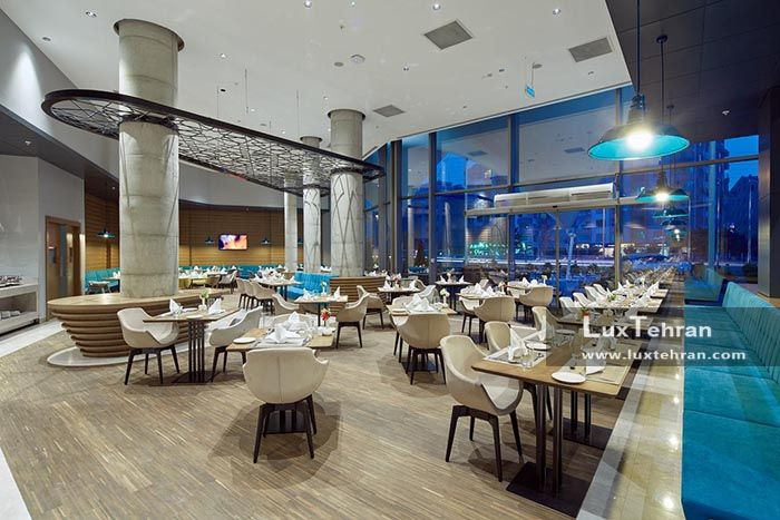 رستوران بزرگ هتل لوکس نووتل قونیه