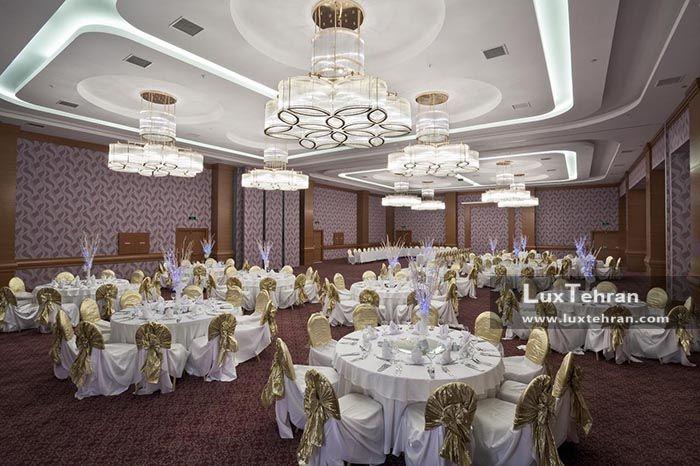 سالن های بزرگ هتل بین المللی قونیه