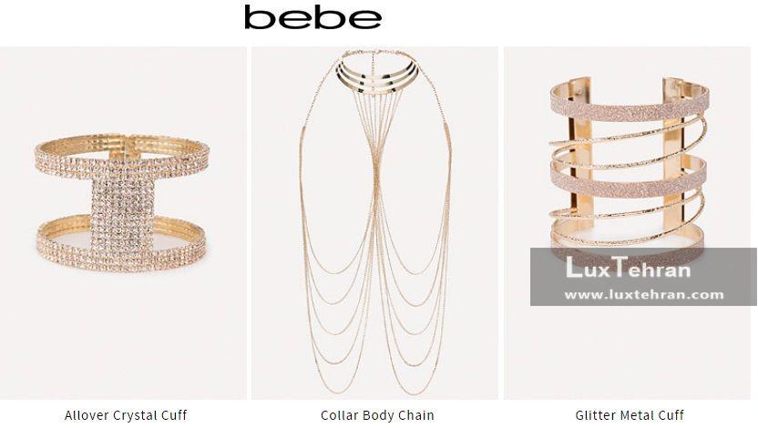 زنجیر ها و دستبند کریستال