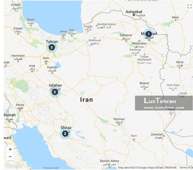 فهرست پزشکان مورد تایید اداره مهاجرت نیوزلند در ایران