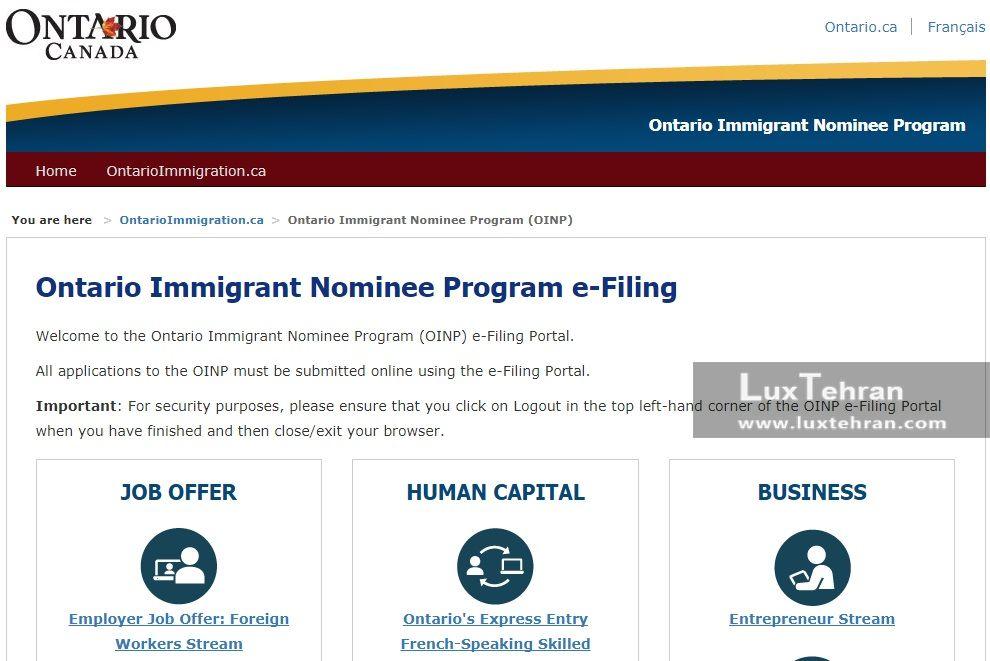 مهاجرت به کانادا از طریق برنامه کارآفرینی مهاجر پذیر انتاریو