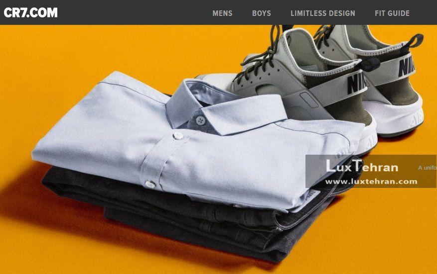 سایت فروشگاه رسمی کریس رونالدو