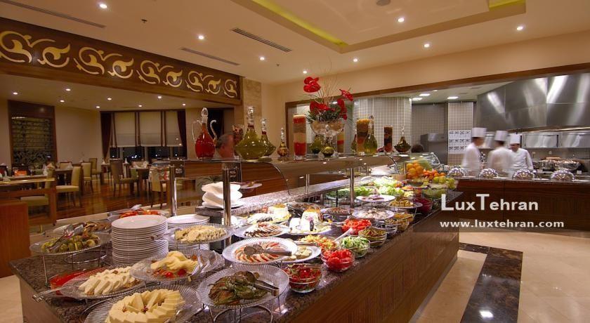 تصویر سلف سرویس رستوران ددمان قونیه ترکیه